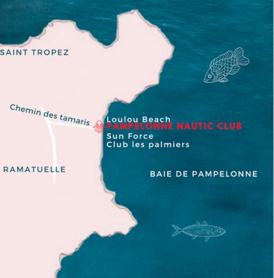 carte pampelonne nautic club